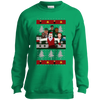 Philly Football Ugly Christmas Youth Crewneck Sweatshirt - Generation T