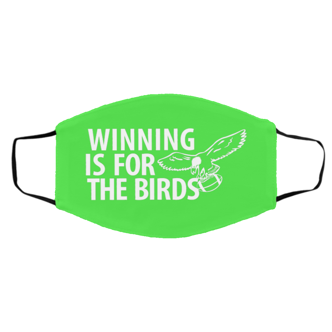Winning for the Birds FMA Med/Lg Face Mask