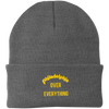 Philadelphia Over Everything Embroidered Knit Cap
