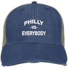 Philly vs. Everbody Mesh Back Distressed Embroidered Cap