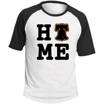 Philly is Home Hockey Edition Short Sleeve Colorblock Raglan Jersey