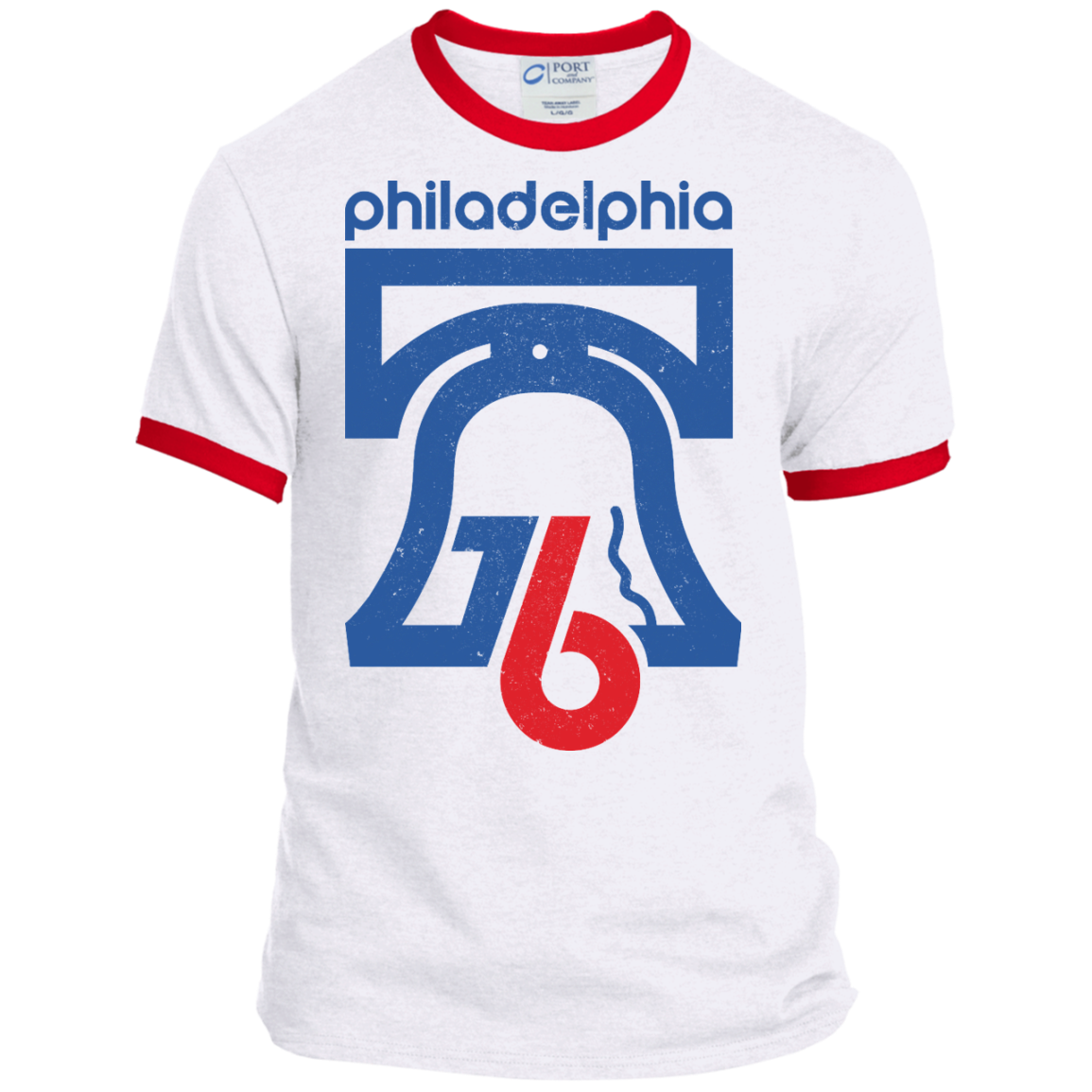 7bdb1c9a4273 Philly 76 Adult Ringer Tee - Generation T