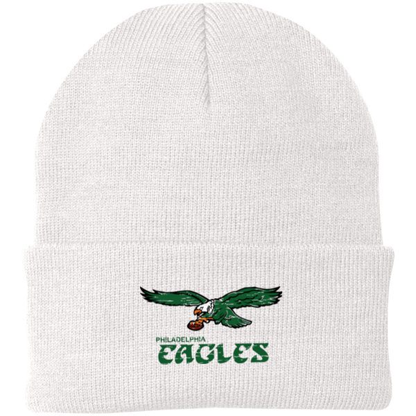 Retro Philadelphia Eagles Inspired Knit Cap
