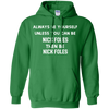 Always Be Nick Foles Pullover Hoodie