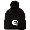 Retro Tecmo Birds Pom Pom Knit Cap