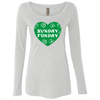 Philly Sunday Funday Ladies' Triblend Long Sleeve Scoop