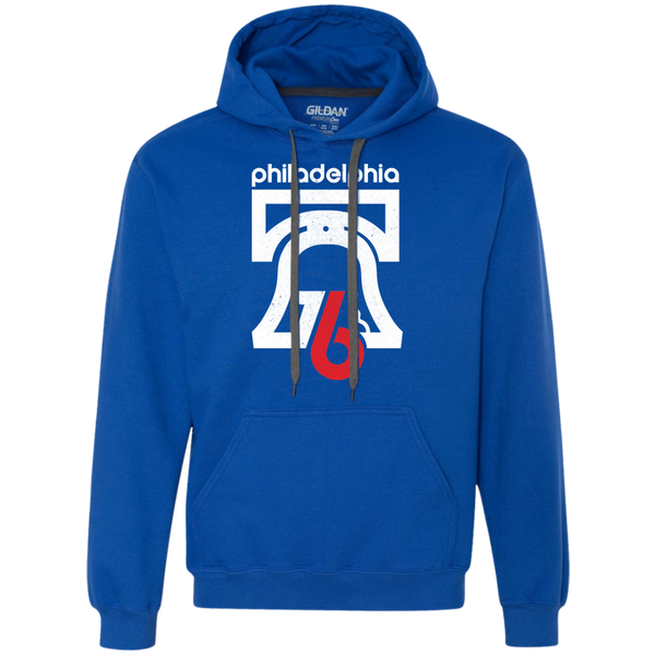 Philly 76 Heavyweight Pullover Fleece Hoodie - Generation T