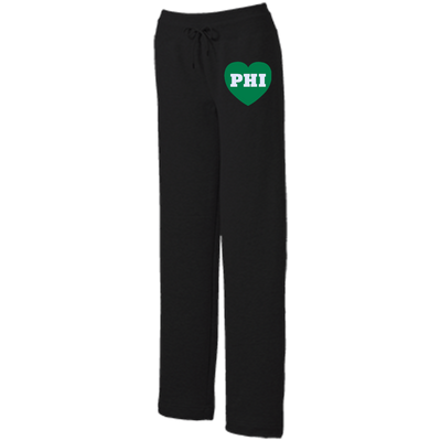 Philly Football Love Ladies' Open Bottom Sweats - Generation T