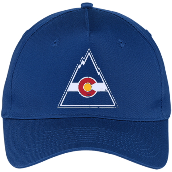 Retro Colorado Rockies Inspired Five Panel Twill Cap - Generation T