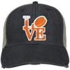 Philly Hockey Love Embroidered Trucker Hat Cap