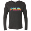 Retro Prism Men's Triblend Long Sleeve Crew - Generation T