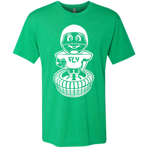 The Kelly Green Bobblehead Men's Tri-Blend Tee