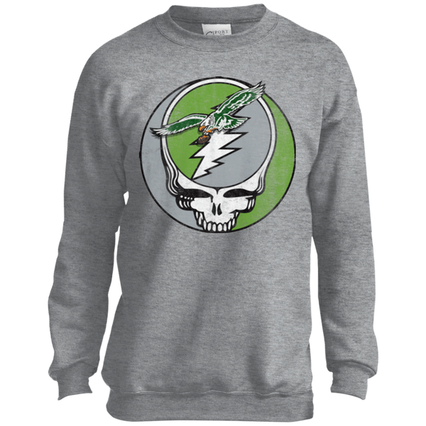Stealadelphia Football Youth Crewneck Sweatshirt