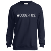 Wooder Ice College Youth Crewneck Sweatshirt