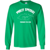 Philly Special Youth Long Sleeve Green T-Shirt - Generation T