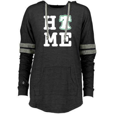 Philly is Home Football Edition Ladies Hooded Low Key Pullover