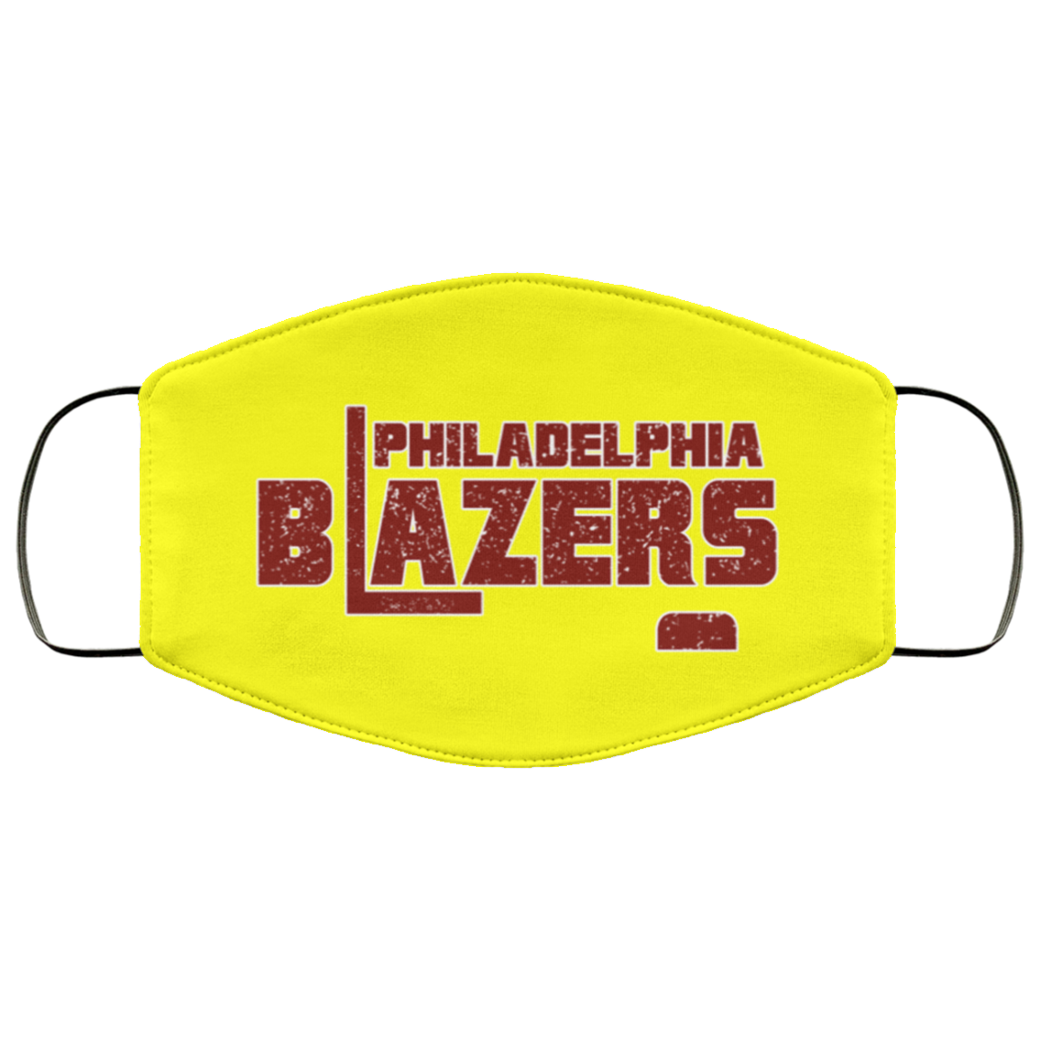 Retro Philadelphia Blazers Face Mask