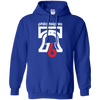 Retro Philly 76 Bicentennial Inspired Blue Pullover Hoodie - Generation T