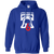 Retro Philly 76 Bicentennial Inspired Blue Pullover Hoodie