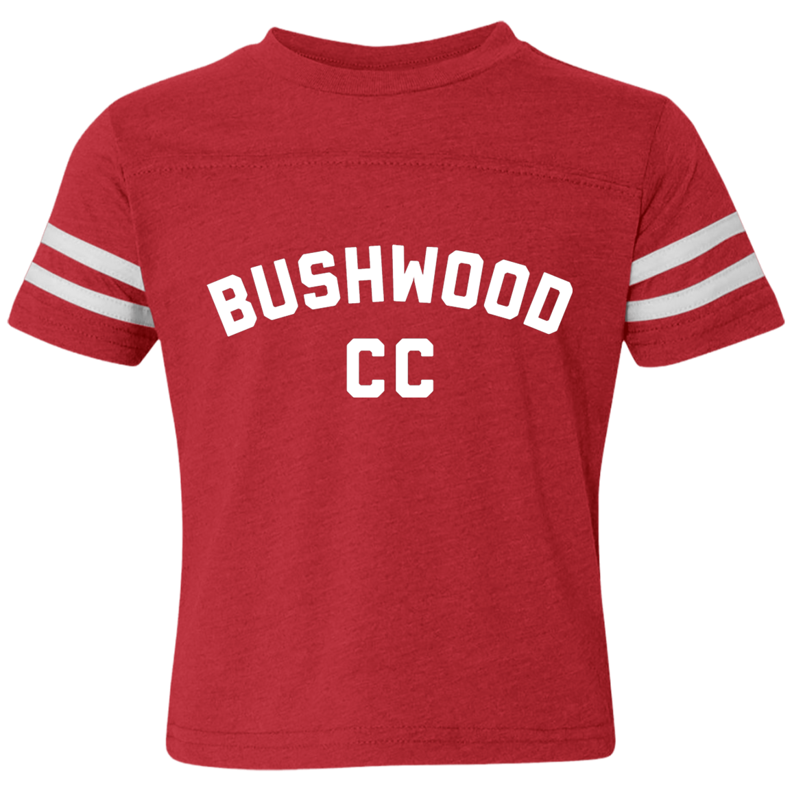 Caddyshack Inspired Bushwood CC Toddler Football Fine Jersey T-Shirt