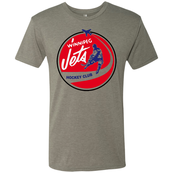 Retro Winnipeg Jets Inspired Men's Triblend T-Shirt