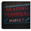 Reading Terminal Market Square Canvas .75in Frame