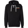Retro Prism TV Heavyweight Sport Lace Hoodie - Generation T