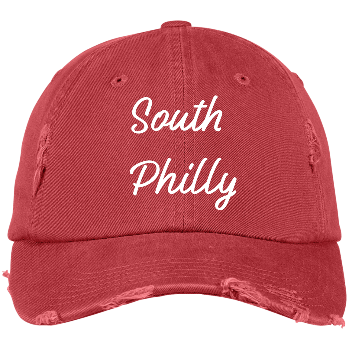 f0a78395ccc Generation T Brand Embroidered South Philly Distressed Dad Cap