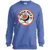 Retro Peter Puck Vintage Youth Crewneck Sweatshirt