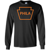 Philly Hockey Keystone Long Sleeve T-Shirt