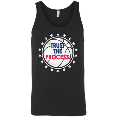 Trust the Process Playoff Edition Unisex Tank