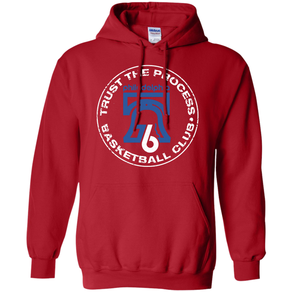 Trust Hoops Club Red Pullover Hoodie - Generation T