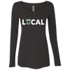 Philly is Local Football Edition Ladies' Triblend LS Scoop