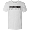 Retro Wall to Wall Sound Listening Booth Men's Triblend T-Shirt