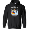 Retro Activision Ice Hockey Inspired Pullover Hoodie
