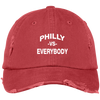 Philly vs. Everybody Distressed Dad Cap