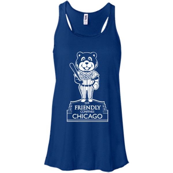 The Friendly Confines Bella+Canvas Flowy Racerback Tank