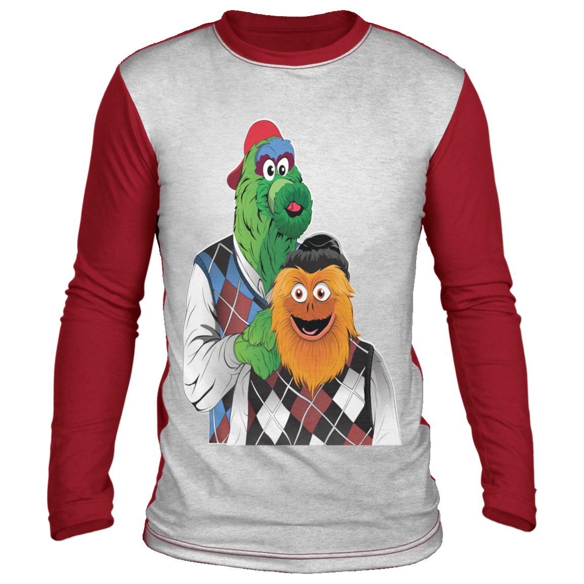 Mascot Brothers Ugly Christmas 'sweater' Long Sleeve