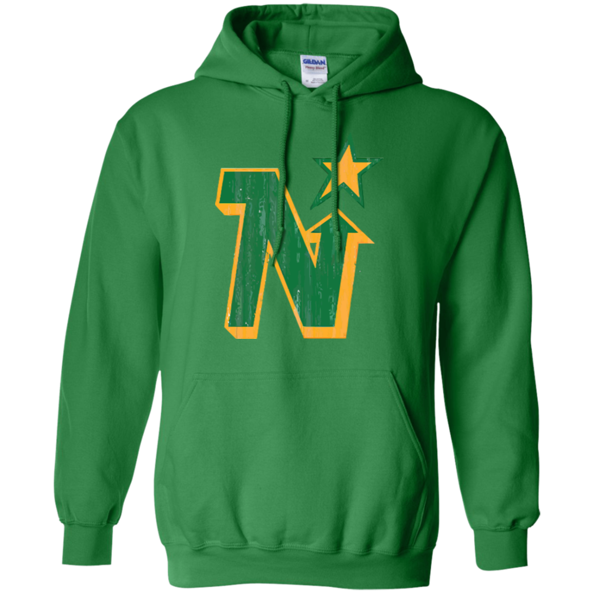 Retro Minnesota North Stars Pullover Hoodie - Generation T