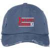 Erving Cheeks 83 Party Distressed Embroidered Dad Cap