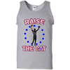 Raise The Cat Adult 100% Cotton Tank Top - Generation T