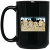 Mount Philadelphia Black Coffee Mug