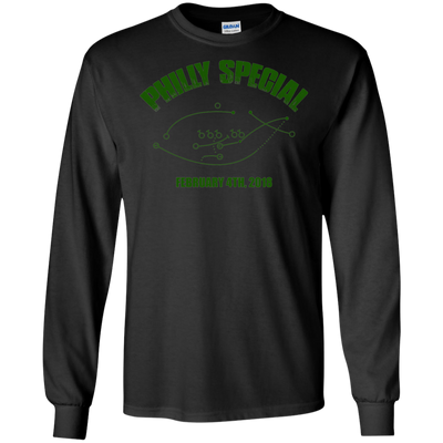 Philly Special Long Sleeve Cotton T-Shirt - Generation T