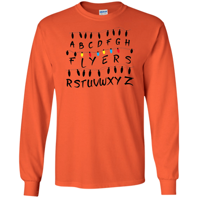 Stranger Flyers Long Sleeve Ultra Cotton T-Shirt - Generation T