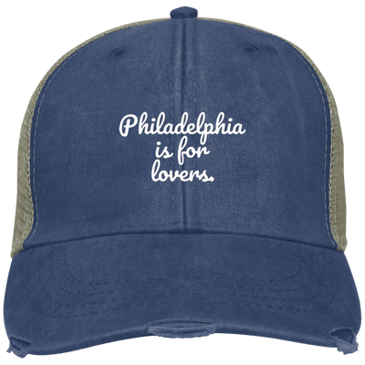 Philadelphia is for Lovers Embroidered Cap