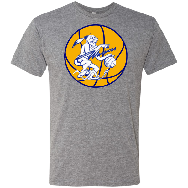 Retro Philadelphia Warriors Next Level Men's Triblend T-Shirt - Generation T