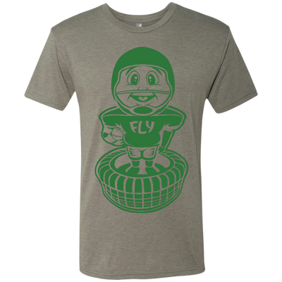 Philly Football Bobblehead Next Level Men's Tri-Blend Tee - Generation T