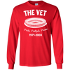 Retro The Vet Long Sleeve Ultra Cotton T-Shirt