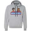 Retro Broad Street Hoops Heavyweight Pullover Fleece Sweatshirt