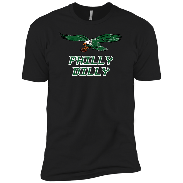 Philly Dilly Next Level Boys' Cotton T-Shirt